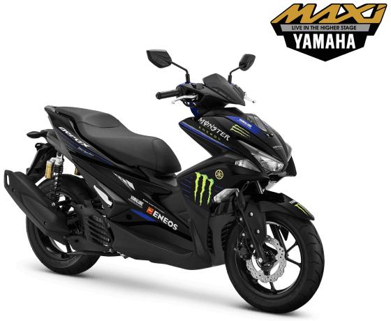 Harga yamaha Aerox 155 VVA R Monster Energy Yamaha MotoGP Pasuruan