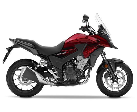 Harga Honda CB 500X Candy Cromosphere Red Kediri