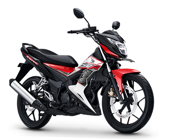 Harga Honda Sonic 150R Energetic Red Sampang