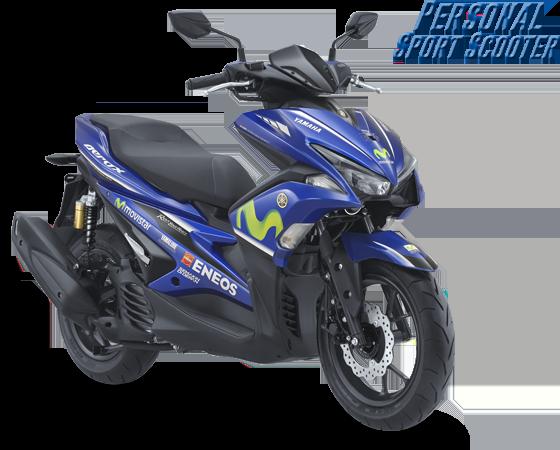 Harga Yamaha Aerox-155-vva-rversion-yamaha-movistar-livery Pasuruan