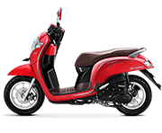 Honda Scoopy Playful Palu