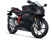 Honda CBR 250RR - STD Grey - Mat Gunpowder Black Metallic Melawi