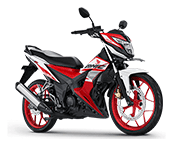 Honda Sonic 150R Racing Red Demak