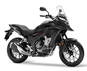 Honda CB 500X Matt Gunpowder Black Metallic Palu