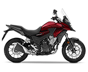 Honda CB 500X Candy Cromosphere Red Palu