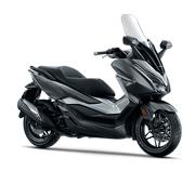 Honda Forza Silver Metallic Magelang