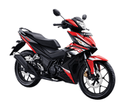 Honda Supra GTR 150 Sporty Red Demak