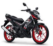 Honda Sonic 150R Matte Black Bekasi