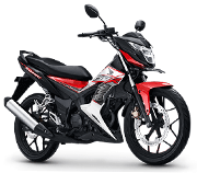 Honda Sonic 150R Energetic Red Bondowoso
