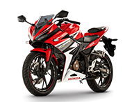 Honda CBR 150 ABS Red Makassar
