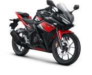 Honda CBR 150R Victory Black Red STD Asahan