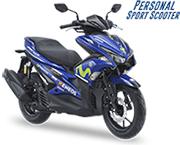 Yamaha Aerox 155 VVA R Yamaha Movistar Livery Pamekasan