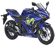 Yamaha R25 Yamaha Movistar Livery Padang