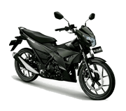 Suzuki All New Satria F150 Black Predator Pinrang