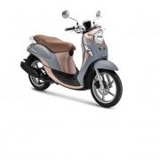 Harga Yamaha New Fino Premium 125 Blue Core Buton Tengah