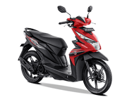Honda BeAT Sporty CBS ISS Bondowoso